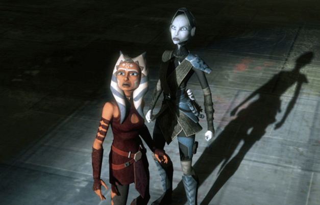 Ahsoka and Ventress