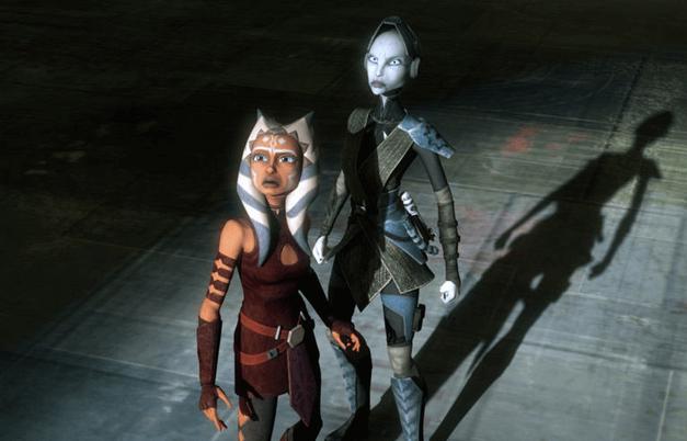Ahsoka and Ventress
