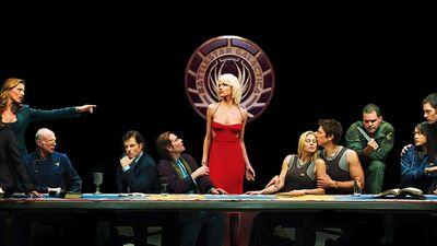'Battlestar Galactica' Cast Reunites at Comic-Con