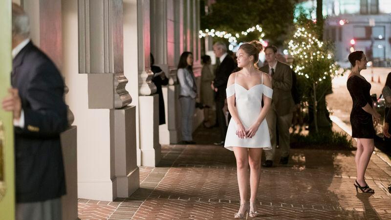 Olivia Holt plays Tandy Bowen aka Dagger