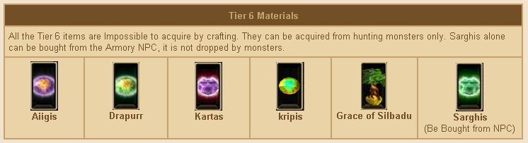 Tier6 craft