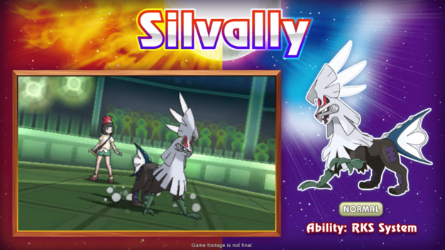 Pokemon Sun and Moon New Pokemon Monsters Silvally