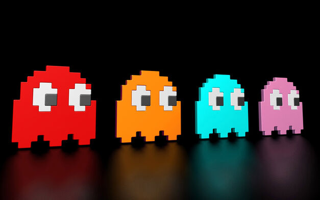 The Ghosts from Pac-Man