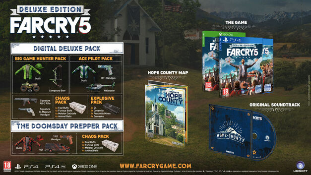 Far Cry 5 Collector's Editions Deluxe Edition