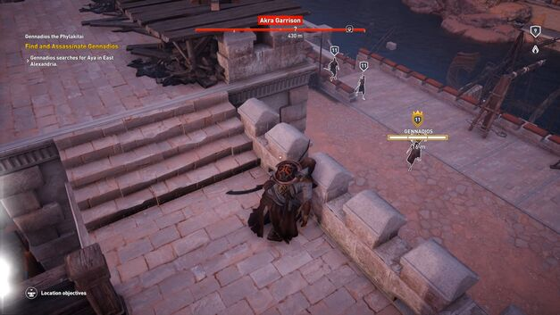 Assassin's Creed Origins stealth kill