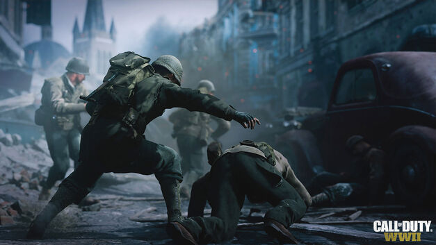 Call of Duty WW2's multiplayer makes you choose between five fighting divisions