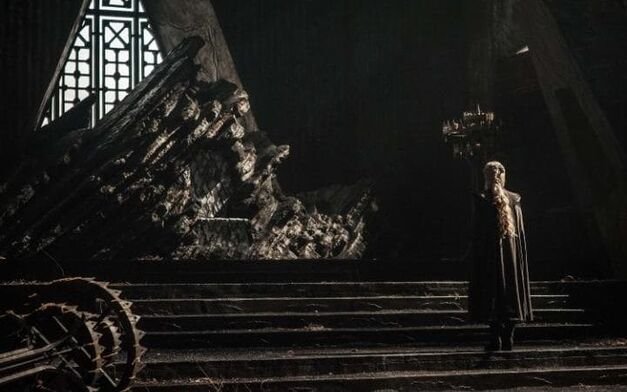 game of thrones dragonstone throne