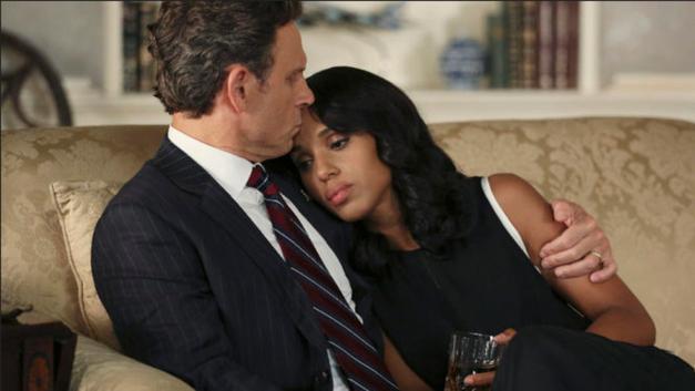 Tony Goldwyn and Kerry Washington in 'Scandal'