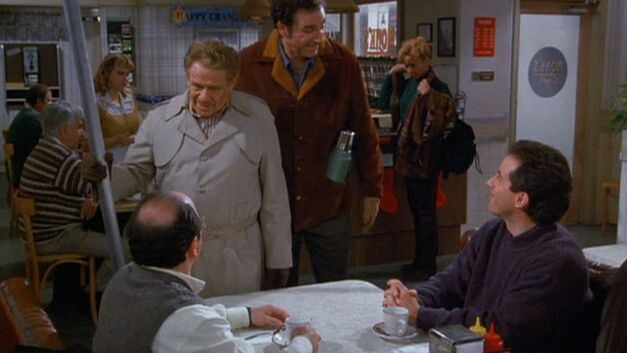 seinfeld the strike festivus pole
