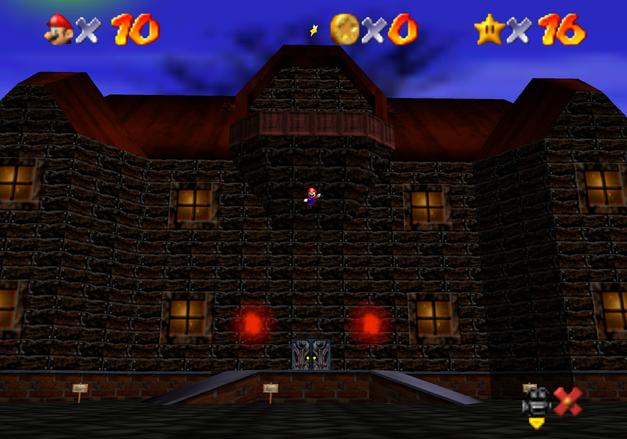 big boo's haunt castle entrance