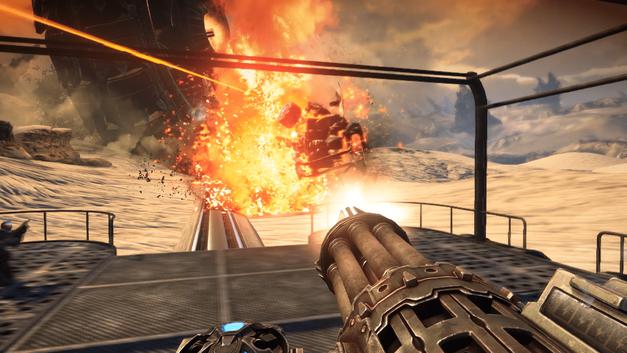 Bulletstorm Full Clip Edition minigun