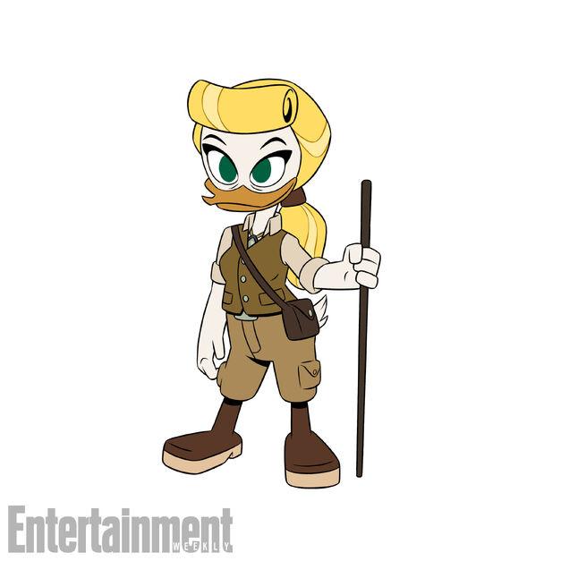 Goldie in DuckTales