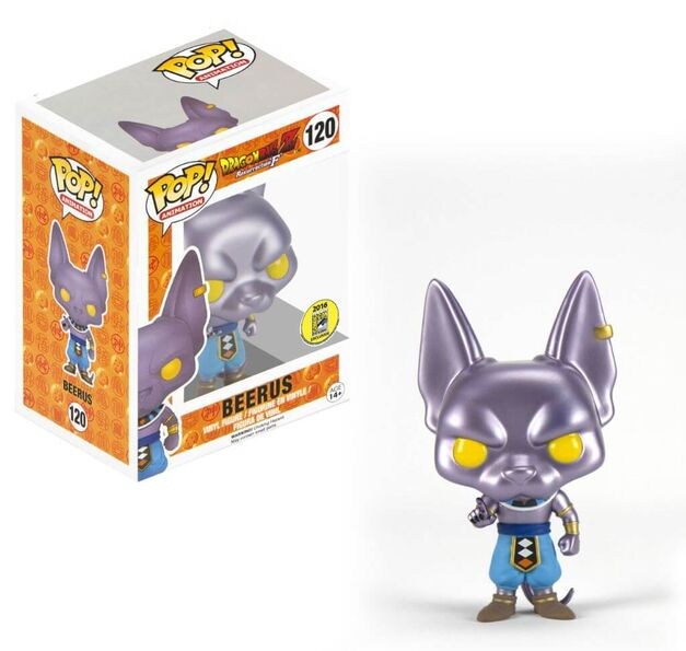 SDCC 2016 Funko Pop Vinyl Funimaton Dragon Ball Z Beerus
