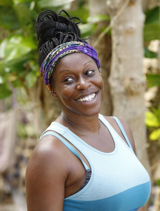 """Ciandre """"CeCe"""" Taylor Survivor season 33 Gen Xers Takali tribe"""