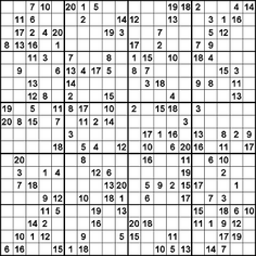 20x20 Sudoku