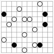 Masyu puzzle