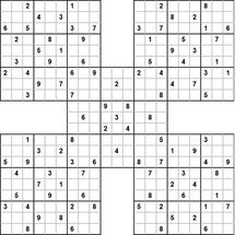 Samurai Sudoku -5