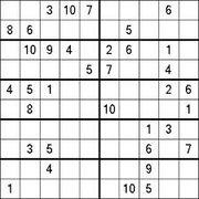 10x10 Sudoku