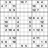 12x12 Sudoku