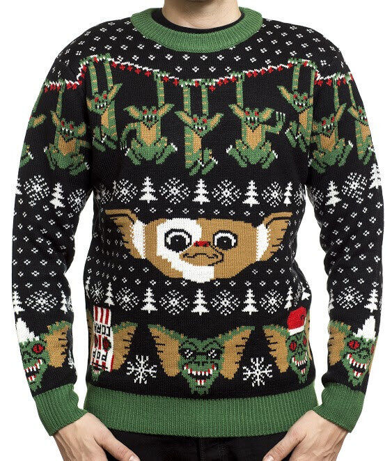 Gremlins ugly sweater