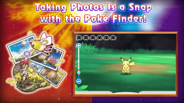 Pokemon Sun and Moon Photography