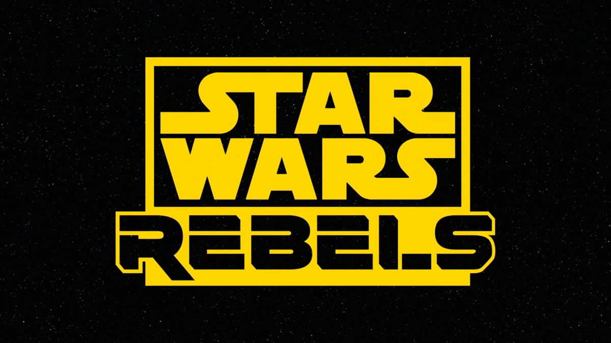 """Star Wars Rebels, closing title card of """"The Last Battle"""" paying homage to Star Wars: The Clone Wars"""