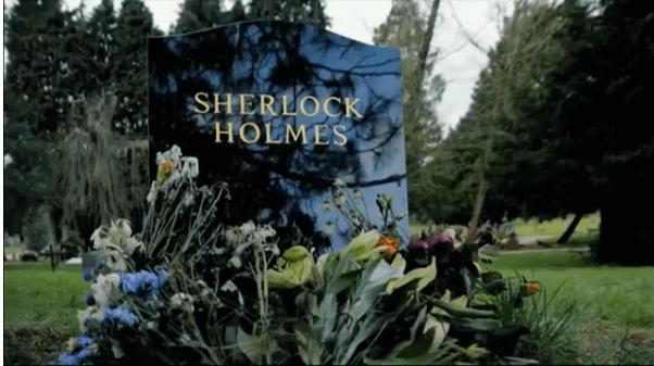Sherlock Headstone