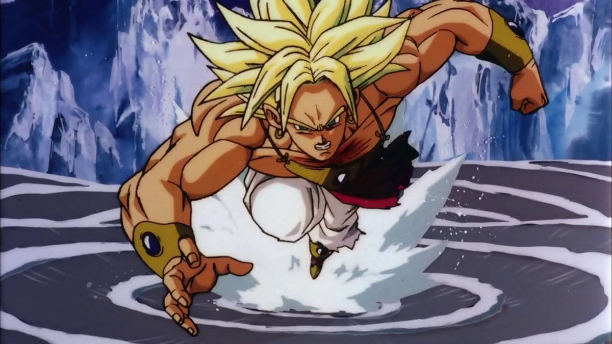 Dragon Ball Super Broly Super Saiyan