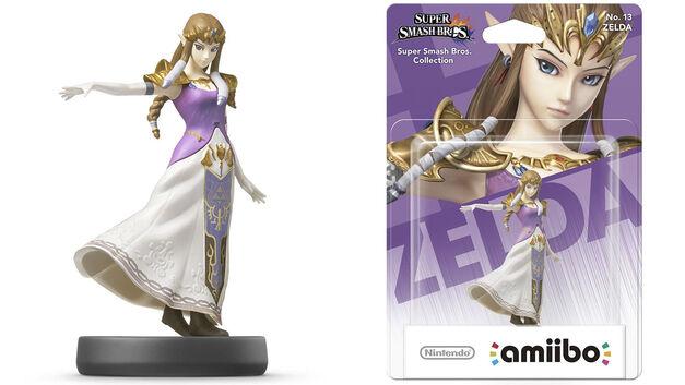 Smash Bros Zelda amiibo