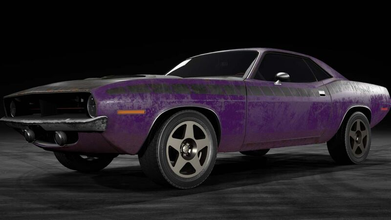 Need for Speed Payback Abandoned Cars Plymouth Barracuda