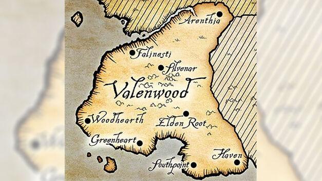 Elder Scrolls, Valenwood