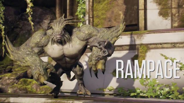 Rampage in Paragon.