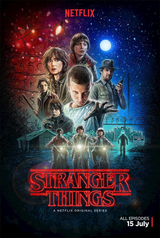 Stranger Things promo poster