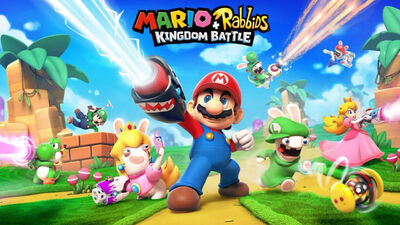 Mario and Rabbids Team Up for a Gun Filled Battle Game You Never Asked For