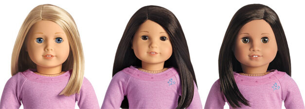 american girl dolls truly me