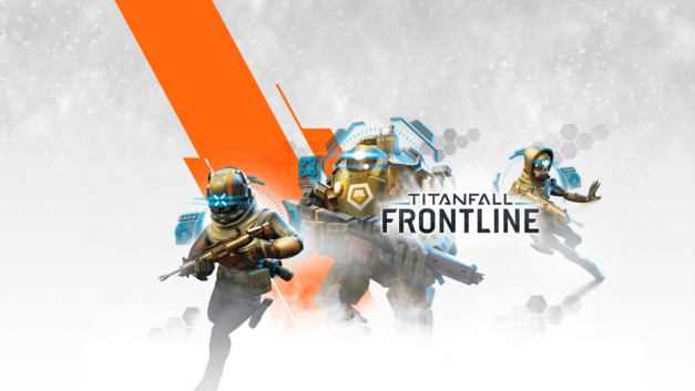 Titanfall Frontline card battle game art