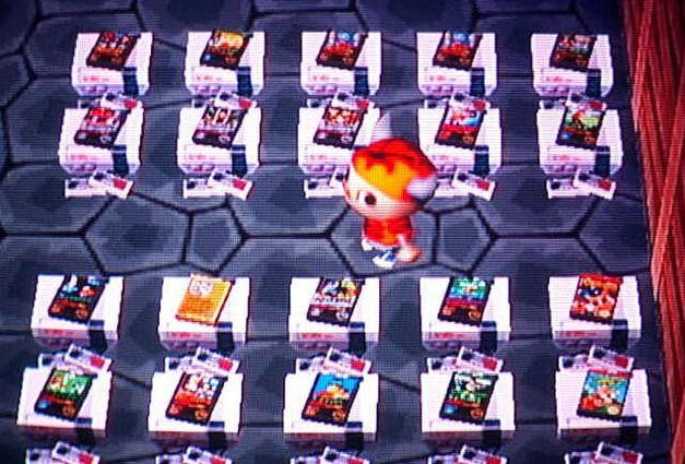 NES games in Animal Crossing