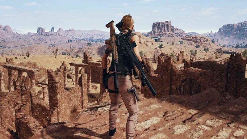 PlayerUnknown's Battlegrounds desert ruins Miramar