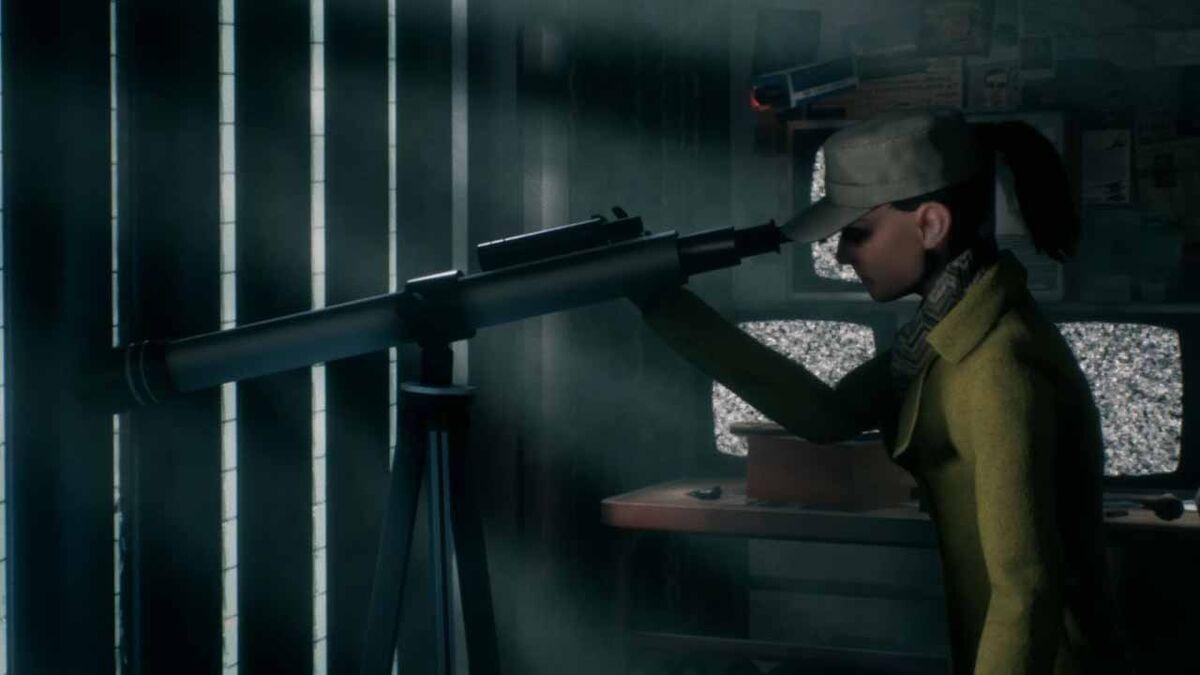 Agent looking through telescope support ability Phantom Doctrine