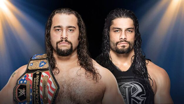 Rusev and Roman Reigns face off at WWE Clash of Champions