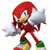 Knuckles the red demon