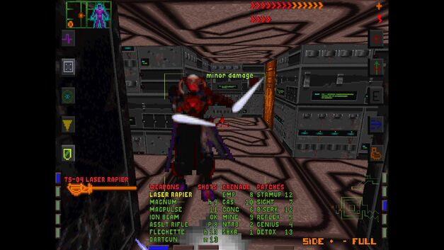 A screenshot of System Shock