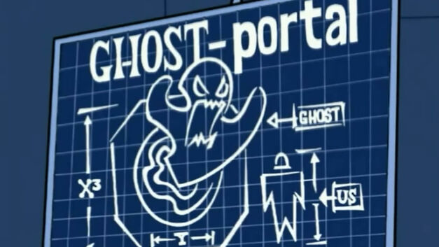 blueprint of ghost portal