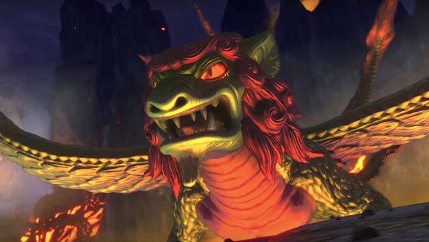 Longfang Lord of Flame, Ni No Kuni 2