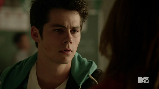 O'Brien as Stiles Stilinski