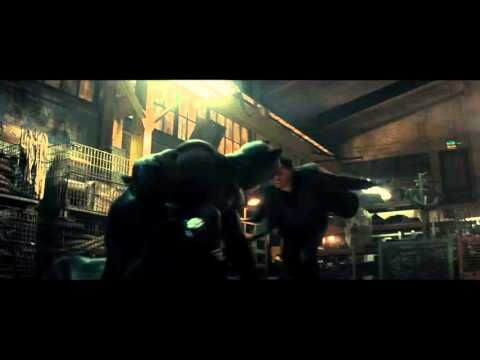 Batman fight scene