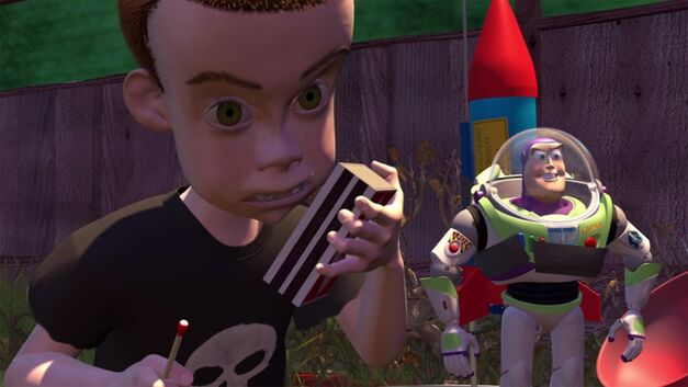 Sid Phillips in 'Toy Story'