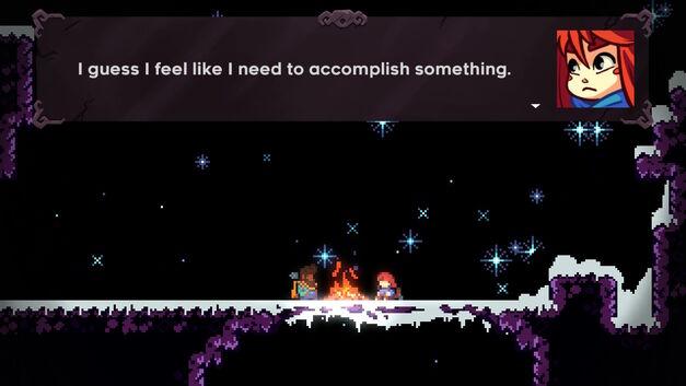 Madeline says that she feels like she needs to accomplish something.