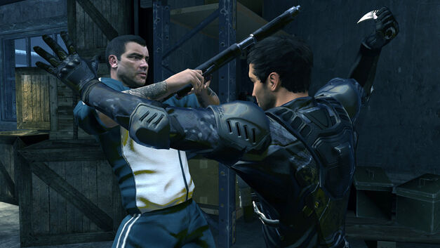 A screenshot of Alpha Protocol.
