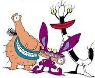 Ickis, Krumm, and Oblina